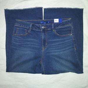 Apt 9 wide leg crop jeans size 12